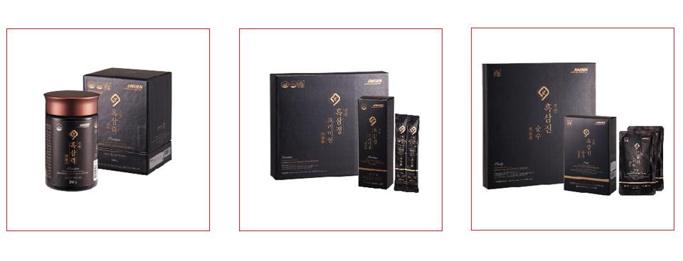 Sản phâm hắc sâm cao cấp Hàn Quốc Daedong Korea Ginseng đang bán trên thị trường