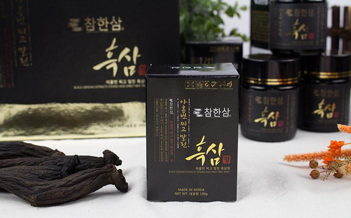Cao hắc hồng sâm Hàn Quốc Daedong 50g được thị trường quốc tế đón nhận