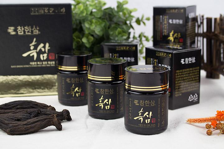 Cao hắc hồng sâm Hàn Quốc Daedong 50g có rất nhiều thành phần quý