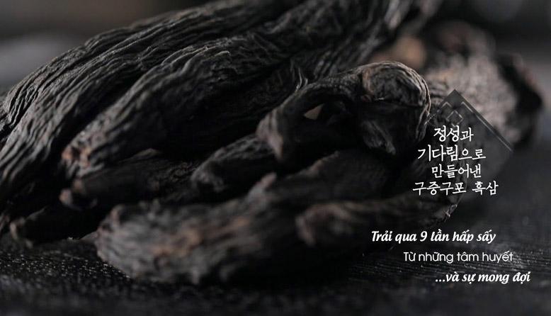 Được chế biến từ Hồng sâm khô Daedong 6 năm tuổi Hàn Quốc