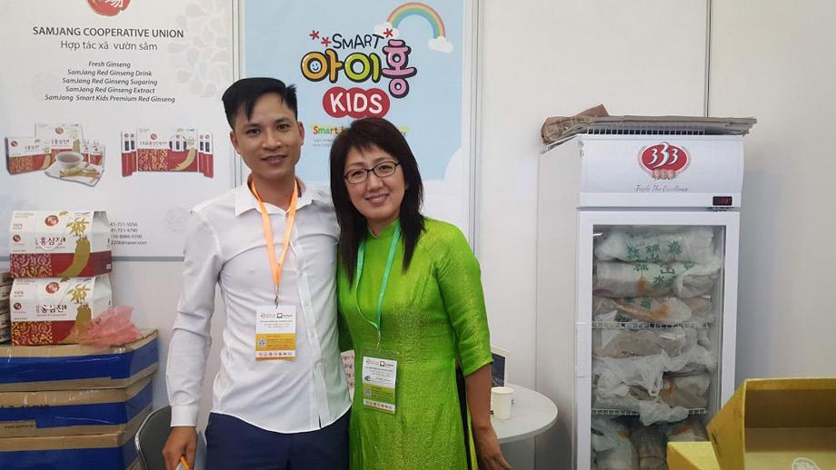 Vinaplaza đưa nhân sâm tươi Hàn Quốc đến với người tiêu dùng với giá tốt sản phẩm chất lượng