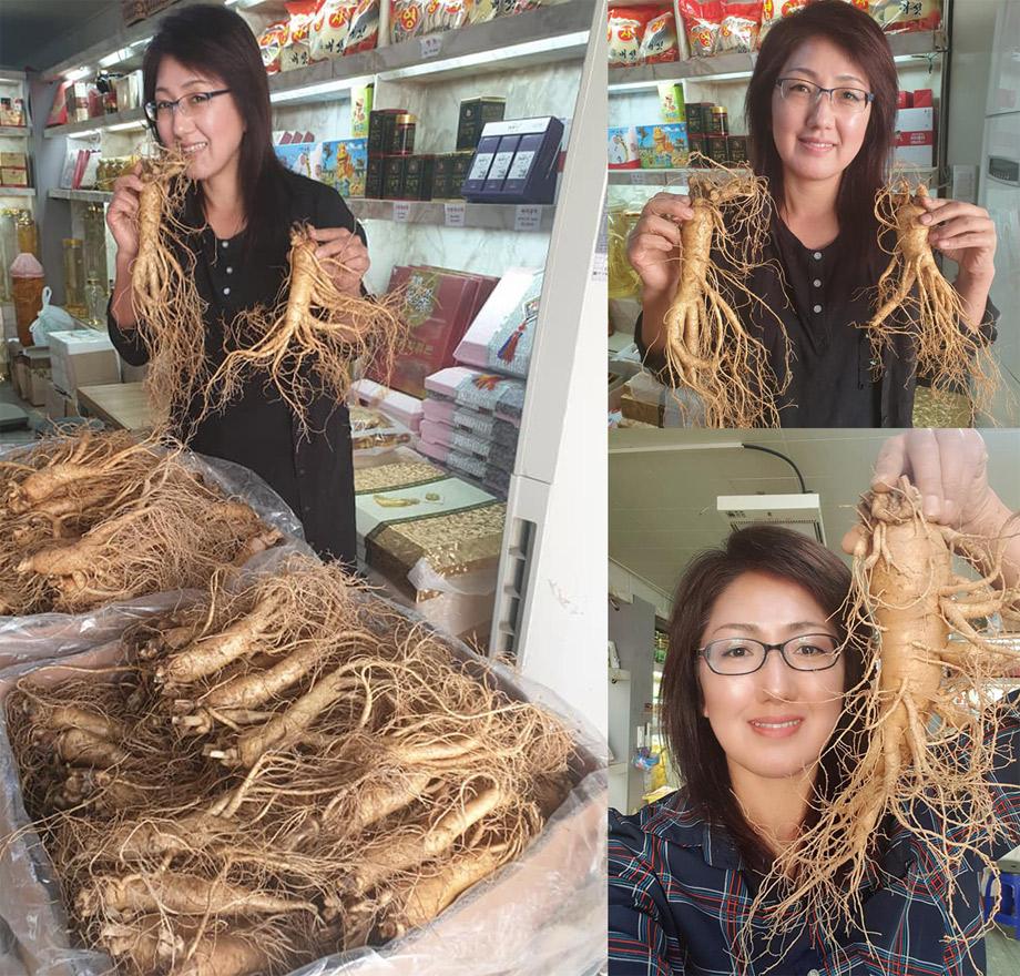 Cửa hàng sâm tươi và các sản phẩm chế biến từ sâm tươi lớn nhất Hàn Quốc