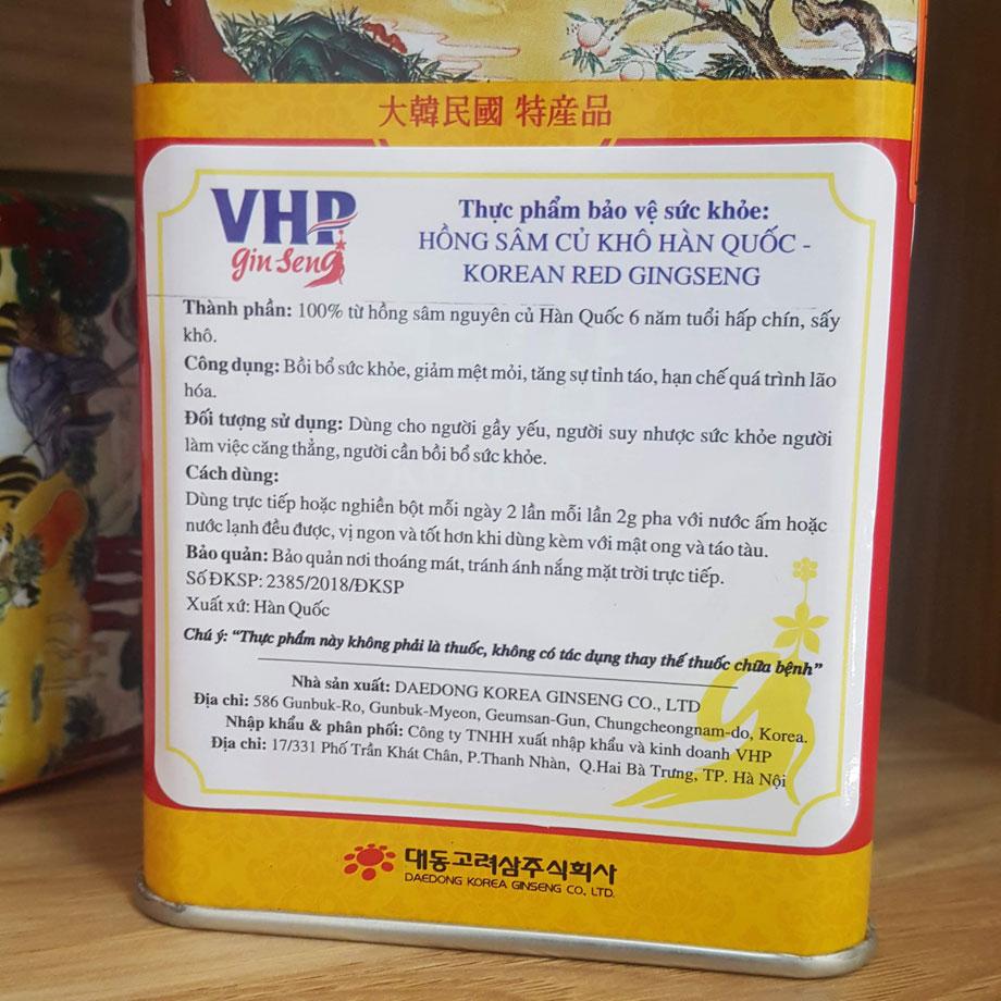 Đối với sản phẩm nhập khẩu chính hãng sẽ có công bố chất lượng sản phẩm tem phụ bằng tiếng Việt