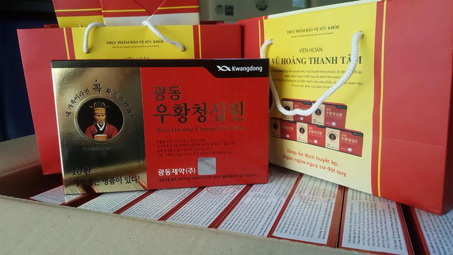 Tìm hiểu về thực phẩm chức năng an cung vũ hoàng thanh tâm Hàn Quốc