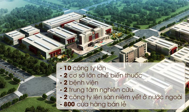 Quy mô tập đoàn Đồng Nhân Đường Bắc Kinh Trung Quốc