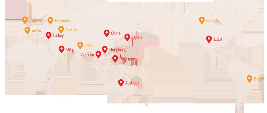 Có rất nhiều các quốc gia sử dụng hắc sâm Hàn Quốc