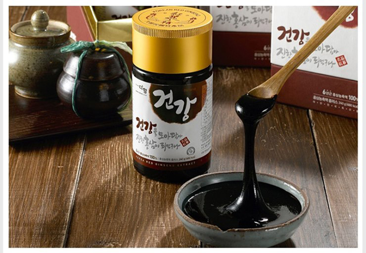 Những thành phần quý có chứa trong cao hồng sâm Hàn Quốc